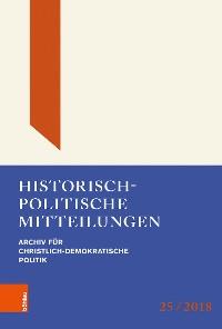 Cover Historisch-politische Mitteilungen