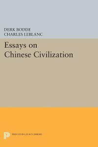 Cover Essays on Chinese Civilization