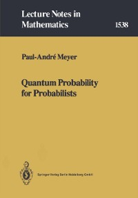 Cover Quantum Probability for Probabilists