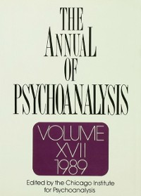 Cover Annual of Psychoanalysis, V. 17