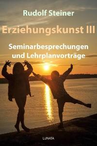 Cover Erziehungskunst III