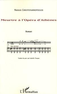 Cover Meurtre a l'opera d'Athenes