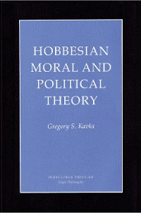 Cover Hobbesian Moral and Political Theory