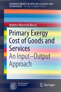 Cover Primary Exergy Cost of Goods and Services