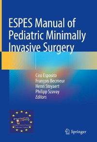 Cover ESPES Manual of  Pediatric Minimally Invasive Surgery