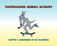 Cover Skateboarding Animals Alphabet