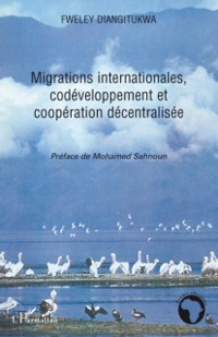 Cover Migrations internationales, codeveloppement et cooperation