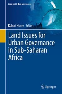 Cover Land Issues for Urban Governance in Sub-Saharan Africa