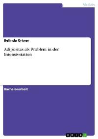 Cover Adipositas als Problem in der Intensivstation