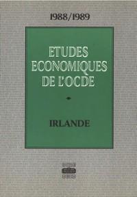 Cover Etudes economiques de l'OCDE : Irlande 1989