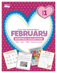 Cover February Monthly Collection, Grade 1
