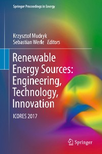 Cover Renewable Energy Sources: Engineering, Technology, Innovation