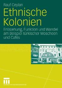 Cover Ethnische Kolonien