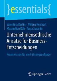 Cover Unternehmensethische Ansätze für Business-Entscheidungen