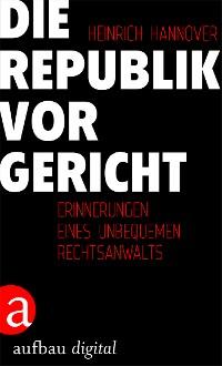 Cover Die Republik vor Gericht 1954-1995