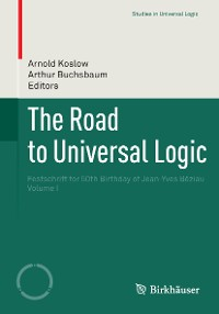 Cover The Road to Universal Logic