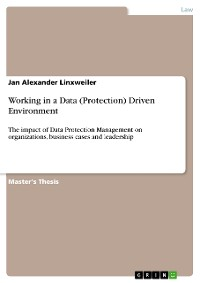 Cover Working in a Data (Protection) Driven Environment