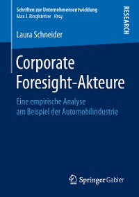 Cover Corporate Foresight-Akteure