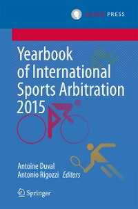 Cover Yearbook of International Sports Arbitration 2015