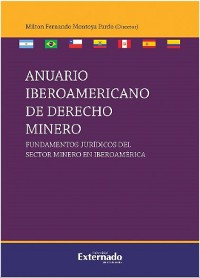 Cover Anuario iberoamericano de derecho minero