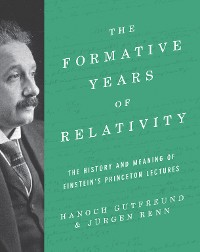 Cover The Formative Years of Relativity