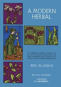 Cover A Modern Herbal, Vol. II