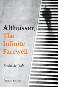 Cover Althusser, The Infinite Farewell