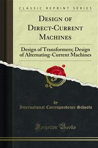 Cover Design of Direct-Current Machines