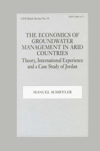 Cover Economics of Groundwater Management in Arid Countries