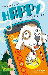 Cover hAPPy - Der Hund im Handy