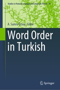 Cover Word Order in Turkish