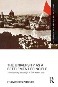 Cover University as a Settlement Principle