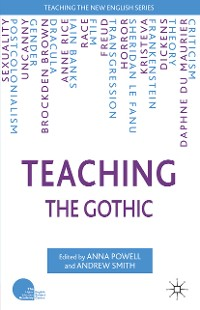 Cover Teaching the Gothic