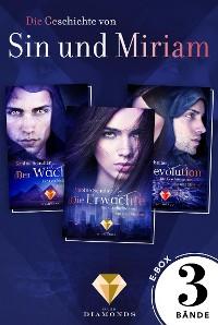 Cover Die Geschichte von Sin und Miriam: Alle 3 Bände der düster-romantischen Reihe in einer E-Box! (Die Geschichte von Sin und Miriam )