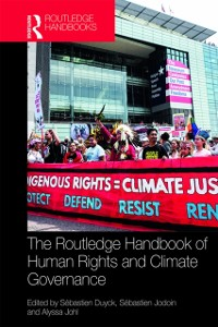Cover Routledge Handbook of Human Rights and Climate Governance