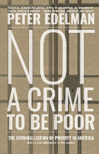 Cover Not a Crime to Be Poor