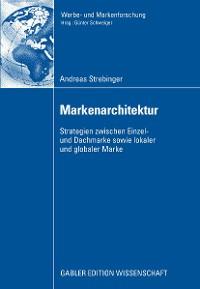 Cover Markenarchitektur