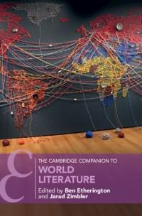 Cover Cambridge Companion to World Literature