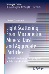 Cover Light Scattering From Micrometric Mineral Dust and Aggregate Particles