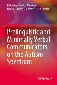 Cover Prelinguistic and Minimally Verbal Communicators on the Autism Spectrum