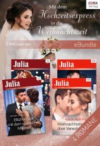 Cover Mit dem Hochzeitsexpress in die Weihnachtszeit  (2 Miniserien)