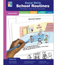 Cover Social Skills Mini-Books School Routines