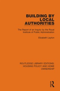 Cover Building by Local Authorities