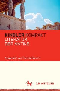 Cover Kindler Kompakt: Literatur der Antike