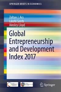 Cover Global Entrepreneurship and Development Index 2017