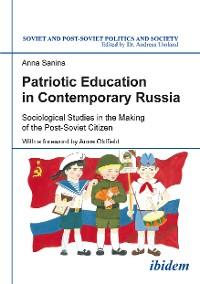 Cover Patriotic Education in Contemporary Russia