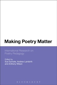 Cover Making Poetry Matter