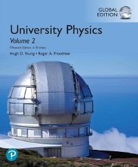 Cover University Physics Volume 2 (Chapters 21-37), eBook, Global Edition