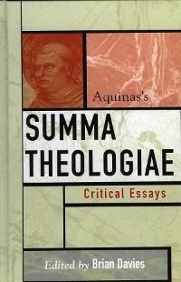 Cover Aquinas's Summa Theologiae