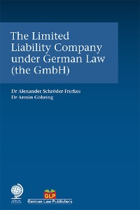 Cover The Limited Liability Company under German Law (the GmbH)